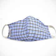 'Blue Gingham' Non-medical Mask