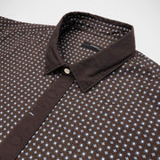 Poggianti 'Brown Neat' Sport Shirt