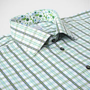 H. Halpern Esq. 'Iguana' Dress Shirt collar
