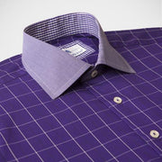 H. Halpern Esq. 'Mulberry' Shirt collar