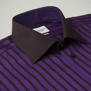 H. Halpern Esq. 'Sugar Plum' Dress Shirt collar