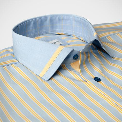 'Newfoundland' Dress Shirt collar