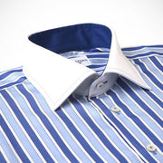 'Bold Blue Stripes' Dress Shirt
