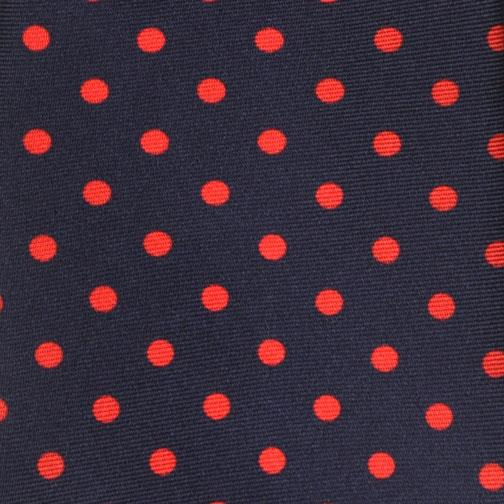 H. Halpern Esq. 'Navy with Red Dot' Tie detail