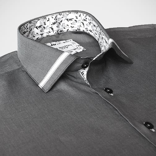 H. Halpern Esq. 'Highlights' Dress Shirt collar