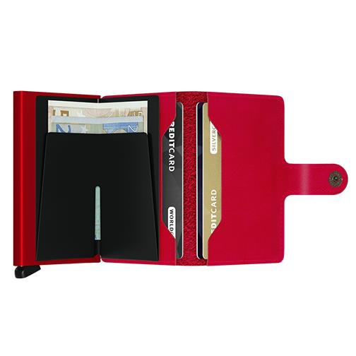 Secrid 'Miniwallet - Red/Red' Wallet