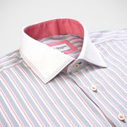 'Elite Sterling Stripe' Dress Shirt