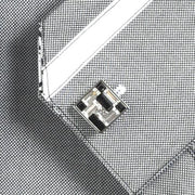 'Black & White Crystals' Cufflinks