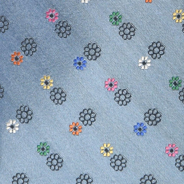 H. Halpern Esq. 'Daisies on Blue' Tie