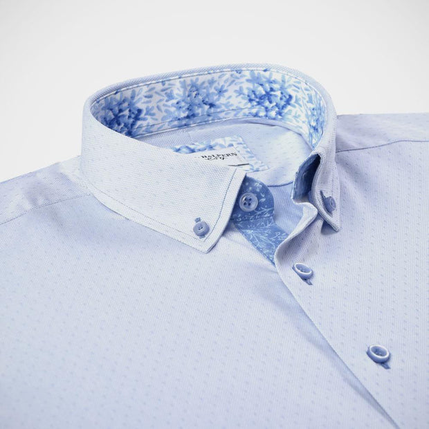 H. Halpern Esq. 'Ice Blue' Sport Shirt