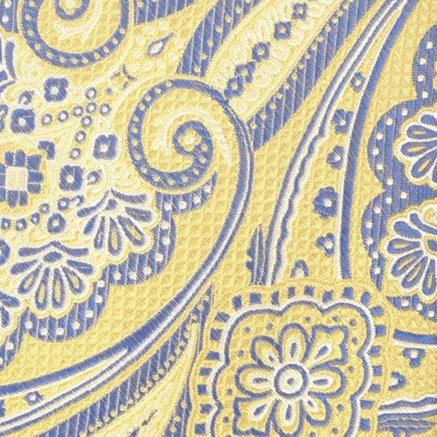 H. Halpern Esq. 'Yellow with Navy Paisley' Tie