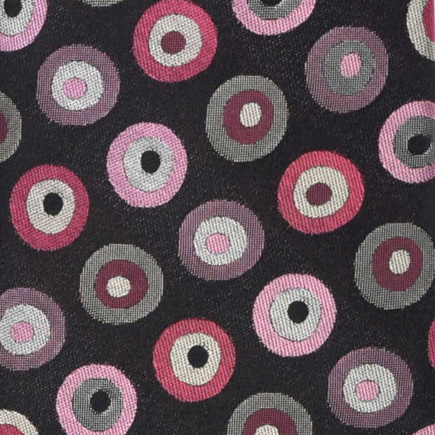 'Circles in Pink' Tie