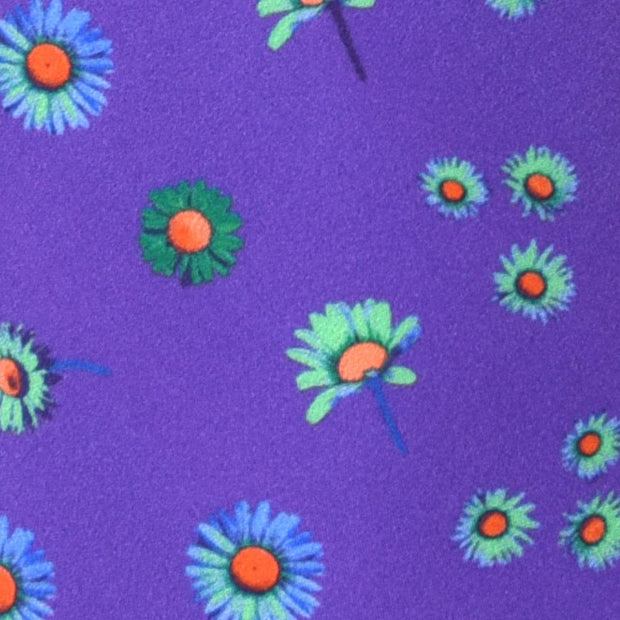 H. Halpern Esq. 'Daisies on Purple' Tie