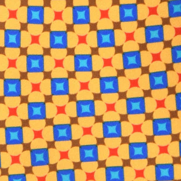 H. Halpern Esq. 'Yellow Geometric' Tie