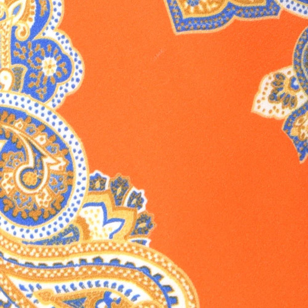 H. Halpern Esq. 'Orange Paisley' Tie