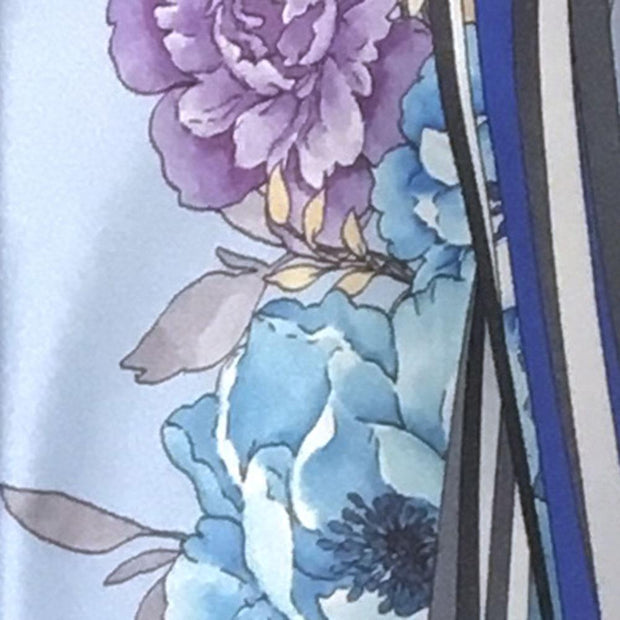 Vitaliano 'Blue with Floral' Tie