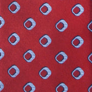 'Red Retro Neat' Tie