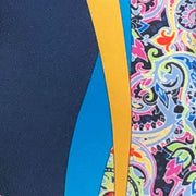 Vitaliano 'Blue and Paisley Split' Tie