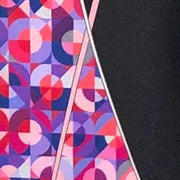 Vitaliano 'Pink Mosaic on Black' Tie