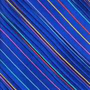 Vitaliano 'Pleated Rainbow on Royal' Tie