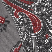 H. Halpern Esq. 'Bold Paisley on Grey' Tie