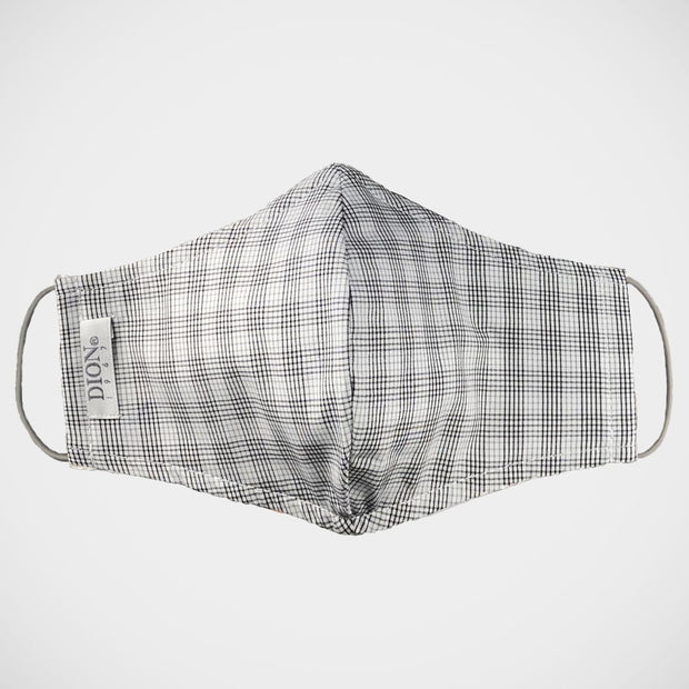 'Grey Graph Check' Non-Medical Mask