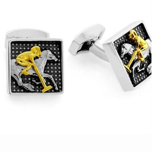 Tateossian 'Vintage Polo' Cufflinks.