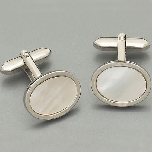 Weber 'Mother-of-Pearl' Cufflinks 2.