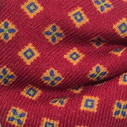 Marchesi di Como 'Wool Neat - Burgundy' Pre-tied Bowtie detail
