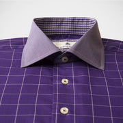 H. Halpern Esq. 'Mulberry' Shirt buttons