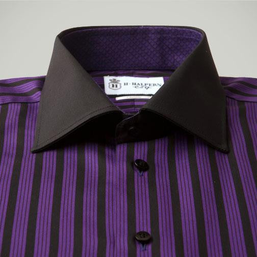 H. Halpern Esq. 'Sugar Plum' Dress Shirt buttons
