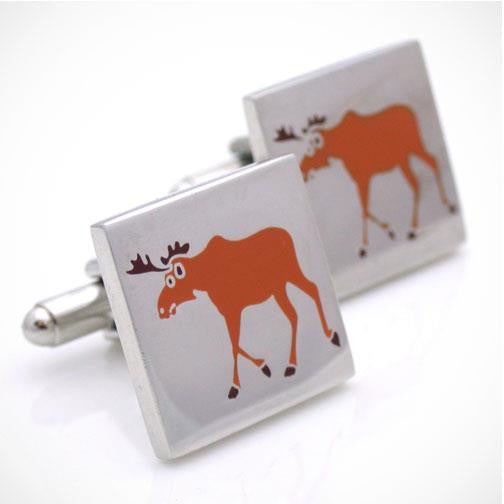H. Halpern Esq. 'Moose' Canadian Cufflinks