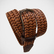 H. Halpern Esq. 'Braided in Tan' Belt.