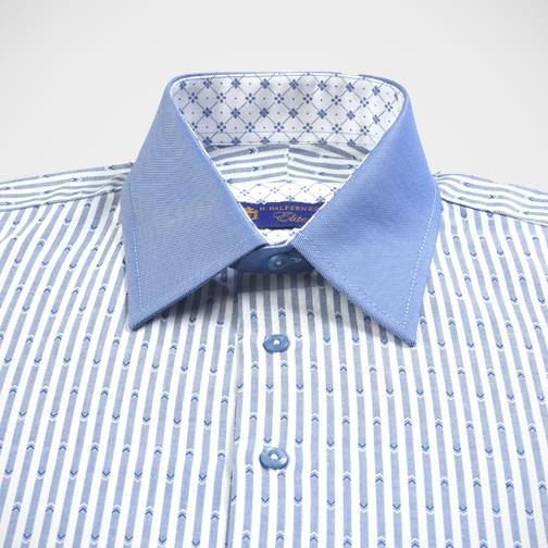 H. Halpern Esq. 'Sky Blue' Dress Shirt.