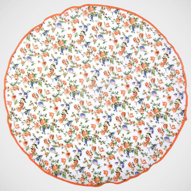 H. Halpern Esq. 'Floral Cotton' Pocket Circle
