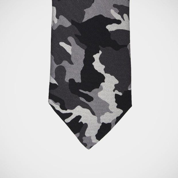 H. Halpern Esq. 'Camo in Black' Tie