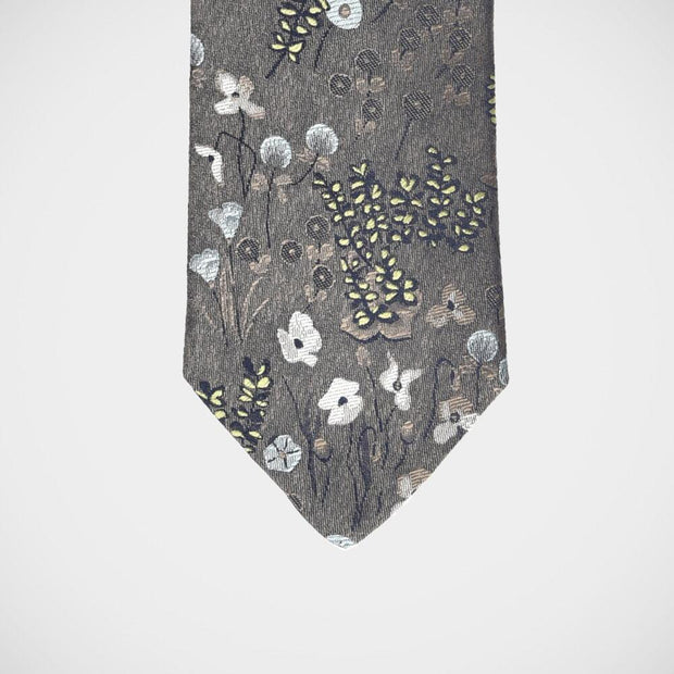 H. Halpern Esq. 'Fall Floral in Mocha' Tie