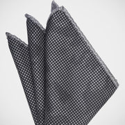 H. Halpern Esq. 'Camo Black' Pocket Square