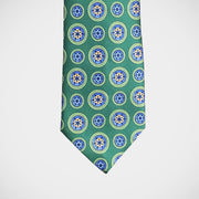 H. Halpern Esq. 'Medallions on Green' Tie