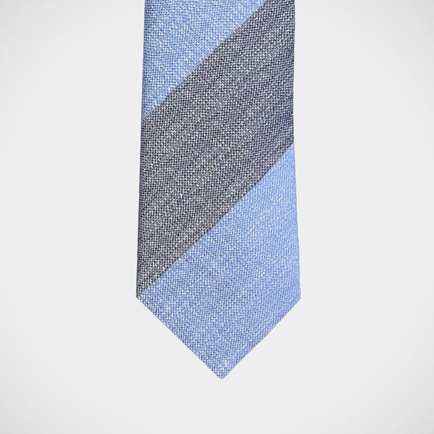 H. Halpern Esq. 'Bold Stripe in Blues' Tie