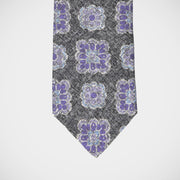 'Purple Medallion' Tie