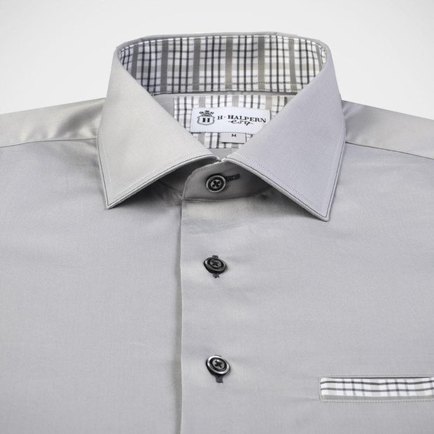 H. Halpern Esq. 'Cloud Burst' Sport Shirt.