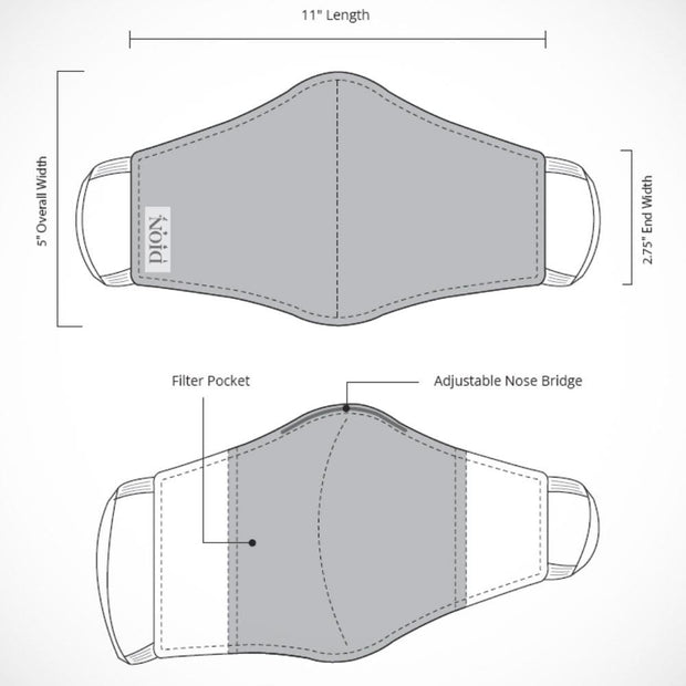 Dion Non-medical Mask Specs