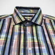 Dagr 'Multi-Coloured Stripe' Sport Shirt.