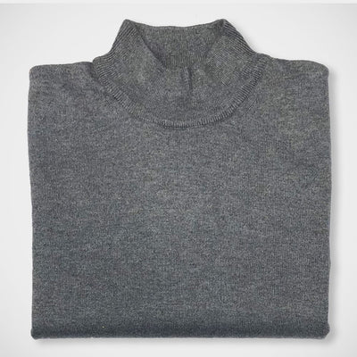 'Mock Turtle - Grey' Sweater