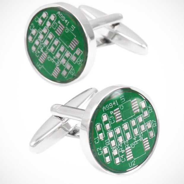 'Computer Mother Board' Cufflinks