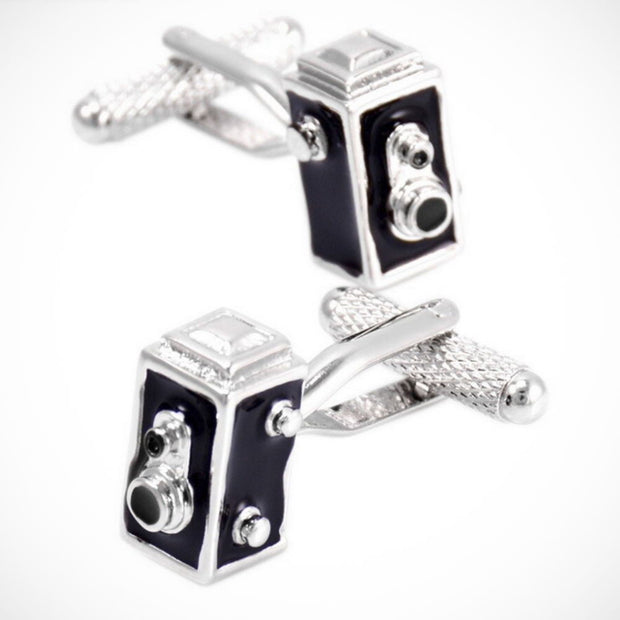 'Old Time Brownie Camera' Cufflinks