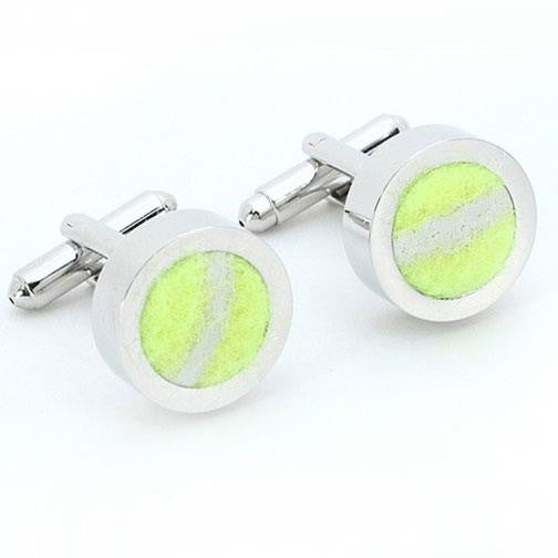 'Tennis Ball' Cufflinks