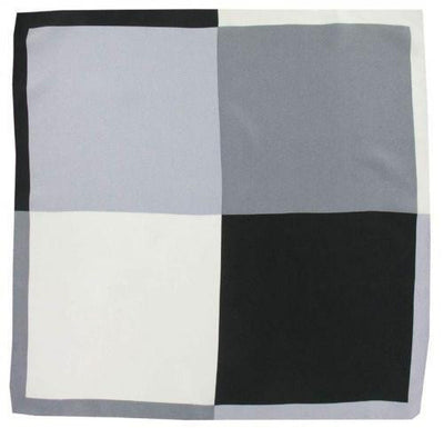 H. Halpern Esq. 'Shades of Grey' Pocket Square