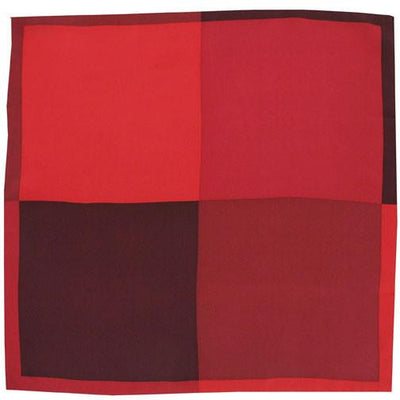 H. Halpern Esq. 'Shades of Red' pocket square